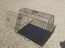 Ellie-Bo Deluxe Sloping Puppy Cage for Car