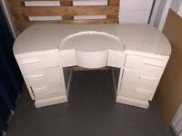 Vintage white dressing table