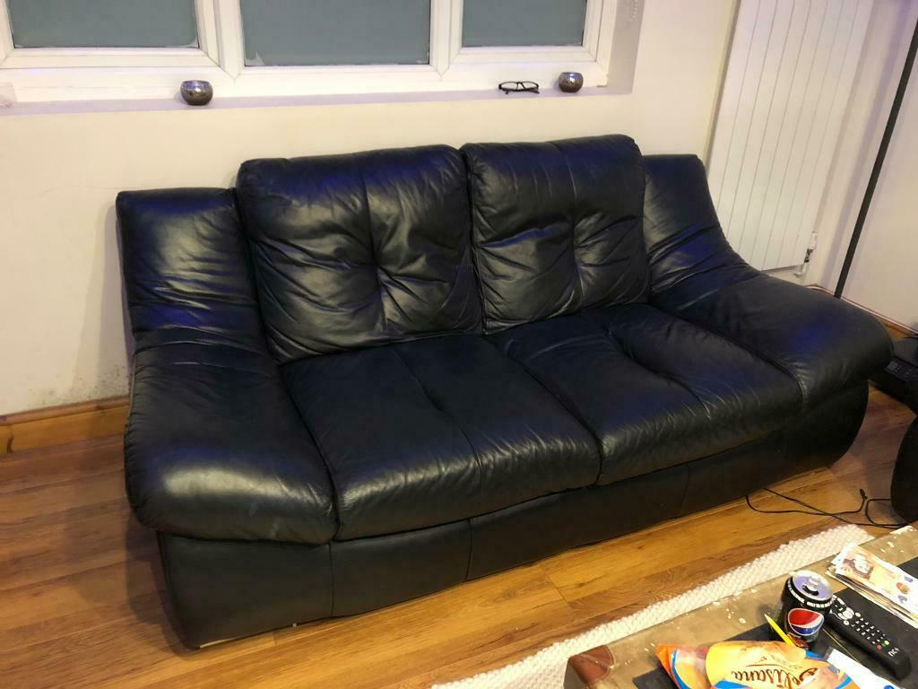 Miraculous Leather Csl Sofa And Chair In Enfield London Gumtree Inzonedesignstudio Interior Chair Design Inzonedesignstudiocom