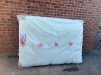 4.6 double size foam mattress- NEW