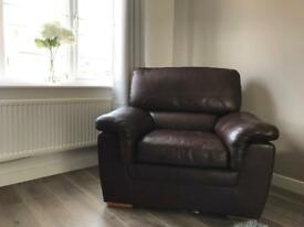 Oak Furniture splendid leather sofa+