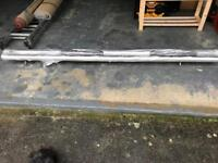 Mercedes Vito Stainless Steel Side Steps with 4 foot plates