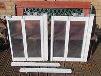 used half height swower door screens, good condition