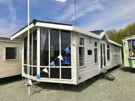 Static holiday home caravan for sale CONTACT DEAN 2018 site fees included North West morecambe