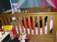 Expensive solid wood cot