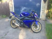 Yamaha r125 low mileage