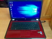 HP G6 HD 6GB Ram Fast Laptop Massive 750GB,Window10,Microsoft office,Ready to use