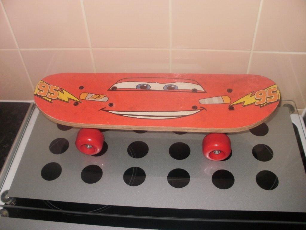 Skateboard Lightning Mcqueen Lightning Mcqueen Cars