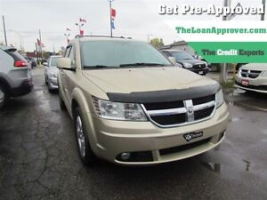 2010 Dodge Journey R/T | AWD | LEATHER | 5PASS | HEATED SEATS