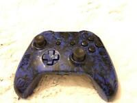 Xbox One Custom Controller - Blue Skull