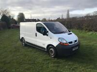 2006 Renault trafic 1.9 dci 122k 12 months mot comes with air con electric windows
