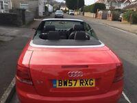 Audi 1.8 TFSI Cabriolet S-Line