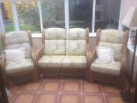 conservatory cane furniture