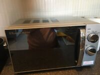 Almost Brand new Russell Hobbs microwave oven