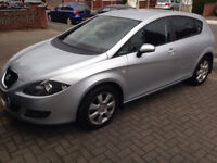 seat leon 1.9 tdi stylance 08 reg FREE TAX service history 1 owner new/tyres/service good condition