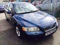 VOLVO V70 DIESEL AUTOMATIC LOW MILEAGE 2004 D5 ESTATE 90K