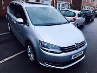 VW SHARAN SEL BLUEMOTION TECH TDI DIESEL 2011 NEW SHAPE