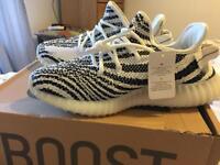 febd39b17 Adidas YEEZY BOOST 350 Zebra V2 by Kanye West Brand New
