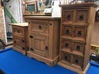 Solid pine furniture x4 (SET)