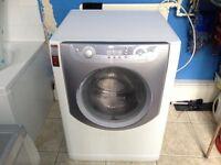Hotpoint Aqualtis 7,5 kg, 1400RMP A+ Energy Super Silent Washing Machine, Spares or Repair
