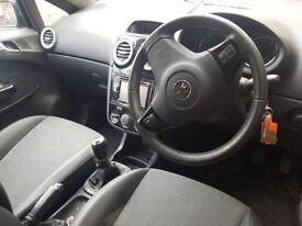 Vauxhall Corsa 3doors Petrol Satnav Car
