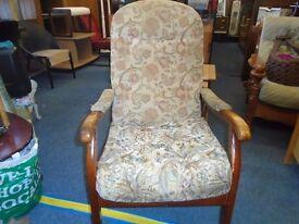 cintique london sring seat arm chair.