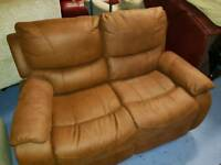 2 seater - ex display Sofa - Reclining action