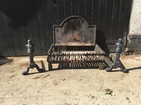 Fire grate set