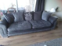 3 seater 2 seater plus swivel chair
