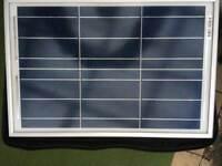 2 brand new solar panels