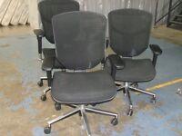 "3 x ""ENJOY"" Office Chairs"