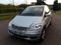 Mercedes Benz A Class A150 in Metallic Silver