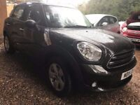 MINI Countryman 1.6 One 5dr£7,495 p/x welcome FREE 1 YR WARRANTY, NEW MOT