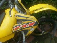 Rm 250 rolling chassi