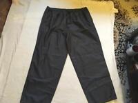 Waterproof men's trousers Sz 2xl new £4