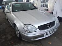 2002 mercedes slk 230 kompressor auto dn only 72k mls lady owner 2 prev owners sexy summer car wow