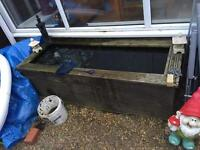 FREE Pond made out of decking FREE