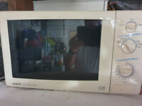 Sanyo microwave oven with grill