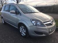Vauxhall Zafira Exclusive 1.8 7 Seater Long Mot