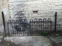 Strong metal gate