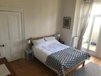 Large double bedroom / room for rent in recently renovated, big Victorian flat conversion