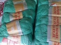 2 packs cotton yarn suitable for knitting or crochet