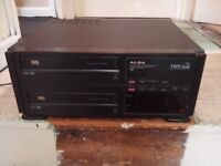 alba twin deck vhs recorder