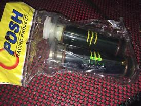 MONSTER ENERGY THROTTLE WITH GRIPS NEW