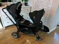 Zoom double pushchair