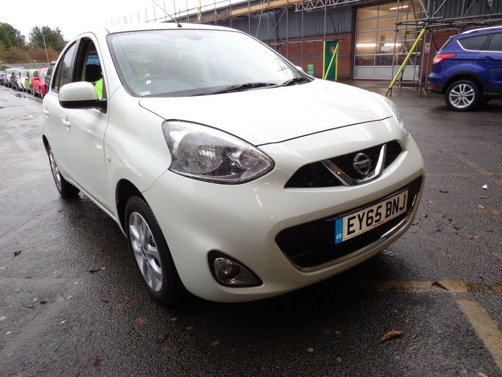 nissan micra 1 2 acenta 5dr cvt auto white 2015 in winsford cheshire gumtree. Black Bedroom Furniture Sets. Home Design Ideas