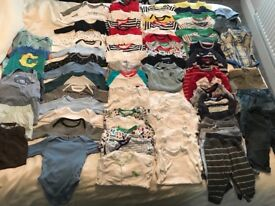 Used baby clothes aged 3-6 months £20