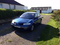 RENAULT MEGANE 1.4 5 DOOR. 12 MONTHS MOT. VERY CLEAN AND RELIABLE.
