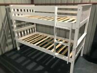New 3ft single white bunks free delivery