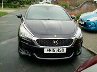 DS5 2.0 150bhp blue HDI, 60yr limited edition model no: 178. Ink blue metallic